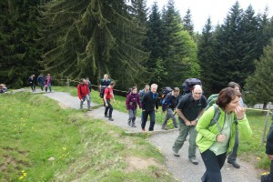 25 Wanderung auf die Rigi